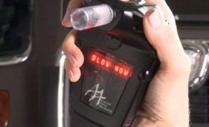 How does a car breathalyzer work?